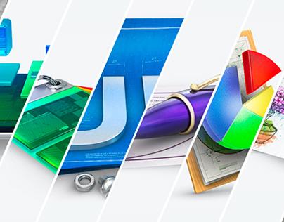 Andrixdesign.com intro page
