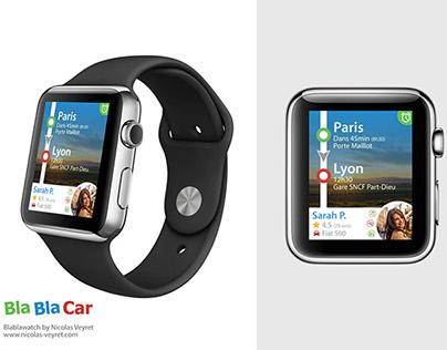 Blablacar on Apple Watch
