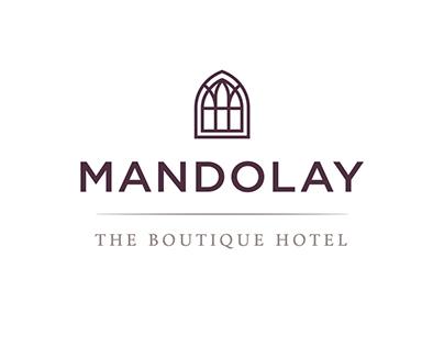 The Mandolay Hotel identity update 2016