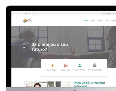 UI Website - TGL Consultoria
