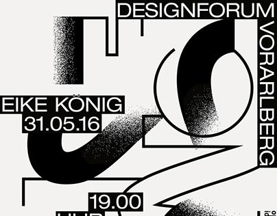 open idea_009 Eike König – Poster Design