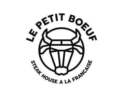 Le Petit Boeuf Logo Design