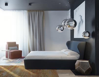 Bedroom, PK APARTMENT. KIEV