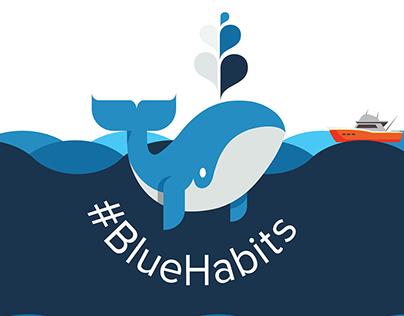 Blue Habits Campaign