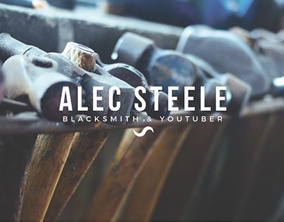 Alec Steele Blacksmith, Website Design Idea