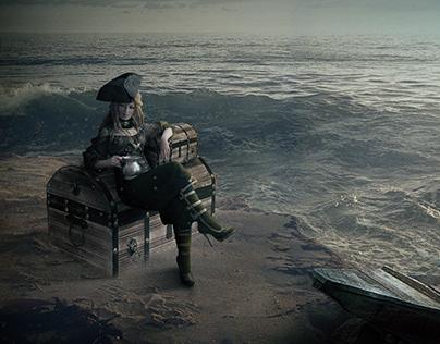 Manipulação de imagem - Pirata