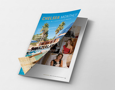 Chelsea Monthly- 100 pages Magazine March 2015 Issue