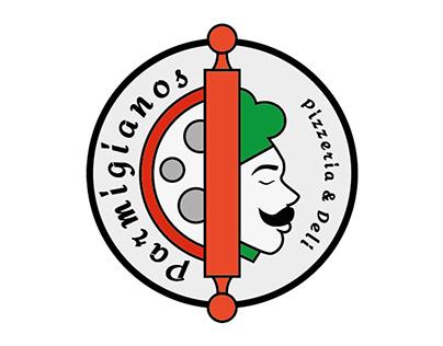 Parmigianos Pizzeria & Deli Branding