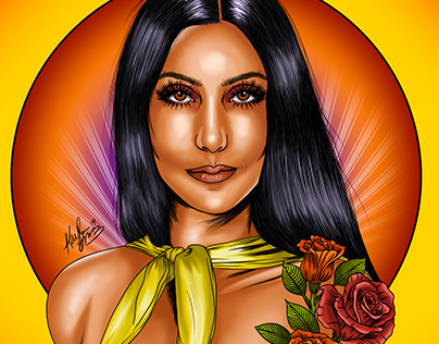 Digital Portrait: Cher 70s