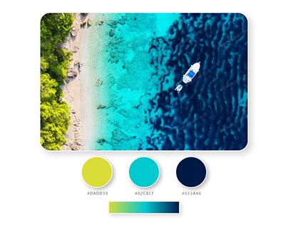 Paleta de colores Croacia