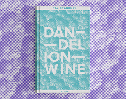 DANDELION WINE BOOK COVER