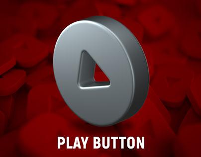 3D RENDER PLAY BUTTON