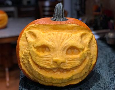 Cheshire Cat, Happy Halloween!