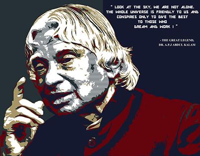 The Great Legend                 Dr. A.P.J Abdul Kalam
