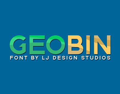 Geo Bin Font