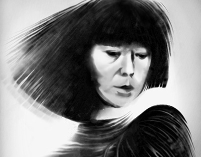 Portrait of Rei Kawakubo