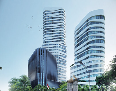 Surabaya CBD Towers - Scott Brownrigg