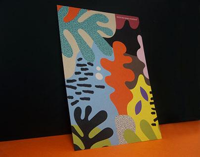 Illustration on postcard | Tatoi club