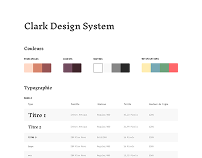 Clark Design System