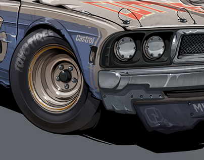 """""""What if"""" Japan NASCAR car of 70's"""