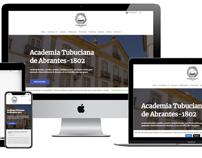 Web site Academia Tubuciana