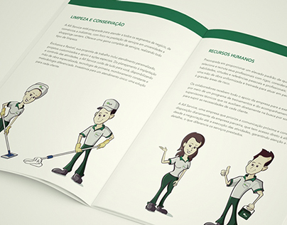 Personagem / Character Design - AX Service