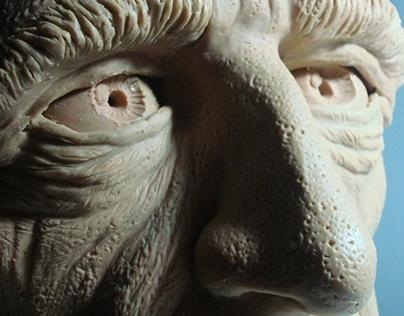 Sculpture - Anatomy Study - Head 1:1