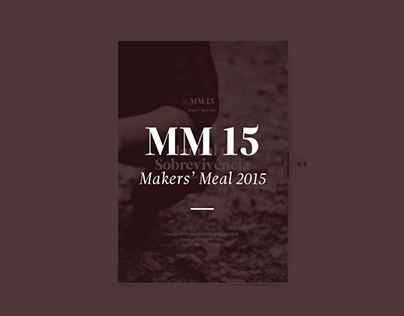 Makers' Meal 2015