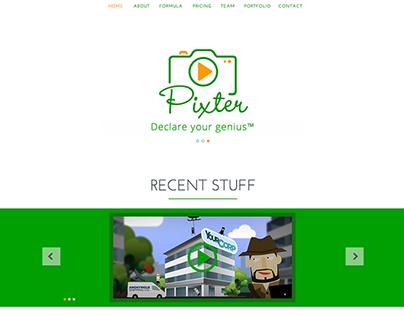 Pixter - Website