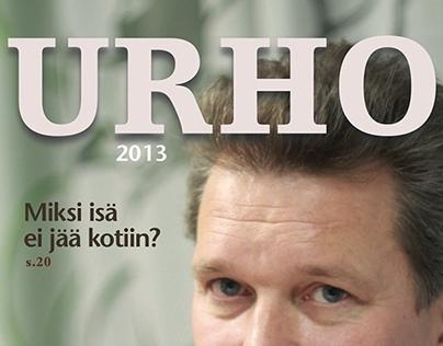 URHO -magazine layout