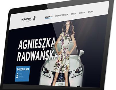 Lexus - Agnieszka Radwanska