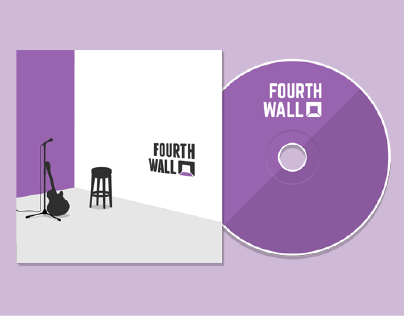 Fourth Wall - Band Logo and Album Cover