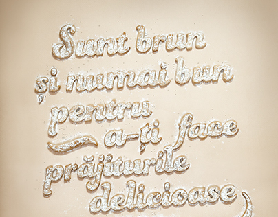 Brown Sugar Typography