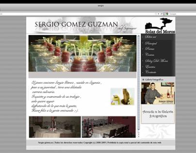 Sergio Gomez Guzmán Web