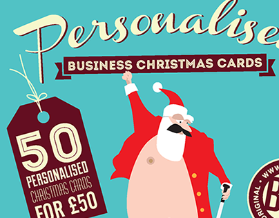 Corporate Christmas Card Promo