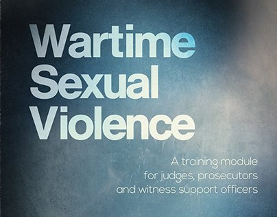 Wartime Sexual Violence (book cover) 2014.