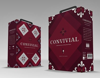 Convivial - Red Wine Packaging
