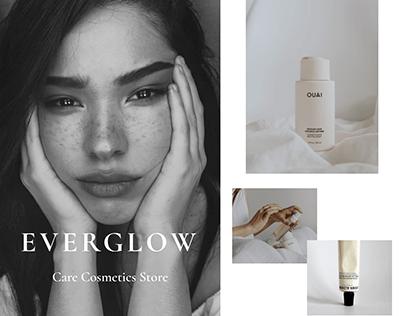 Care Cosmetics Store concept