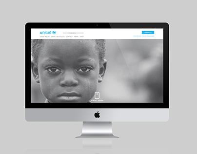 Unicef Website Re-design