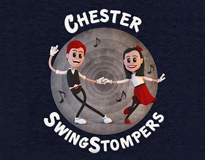 SwingStompers Logos