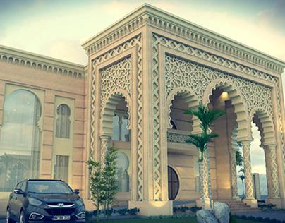 islamic style villa