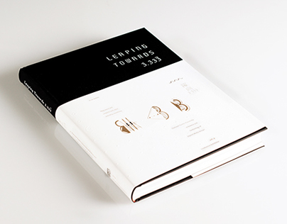 Leaping Towards 3.333|Book Design
