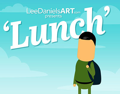 'Lunch' - LeeDanielsART Animation