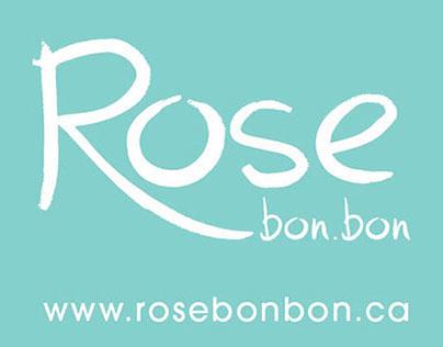 Carte d'affaire Rose Bon.bon