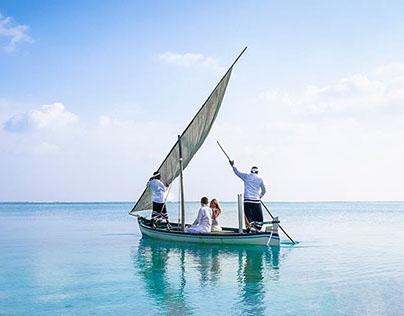 Wedding in Sun Island style