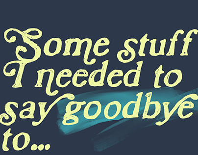 With growth, you'll need to say goodbye to stuff