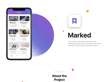 Marked Mobile App