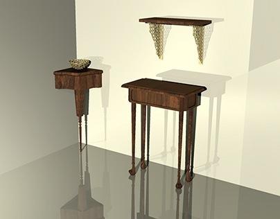 Furniture and Accessories-designed in Rhino OSX