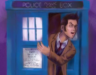 iOS Doctor Who sketch