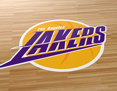 LA Lakers logo on Behance